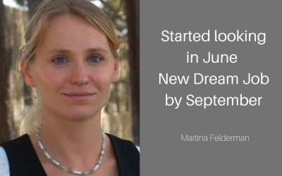 How Martina switched industries to a job she LOVES with the skills she already had.