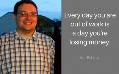 Matt learned how the hiring process really works and used it to his advantage.