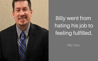Billy goes from hating his job to finding fulfilling work.